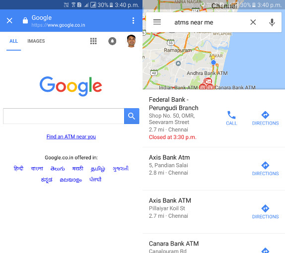 Google India adds 'Find an ATM near you' tool to help citizens