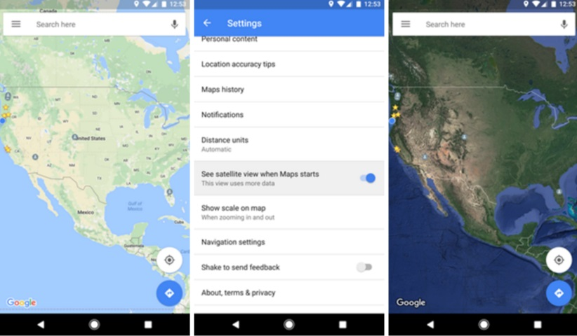Google Maps Android beta gets satellite view and new features on