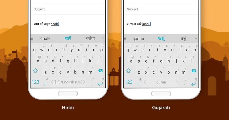 SwiftKey gets transliteration support for Hindi and Gujarati