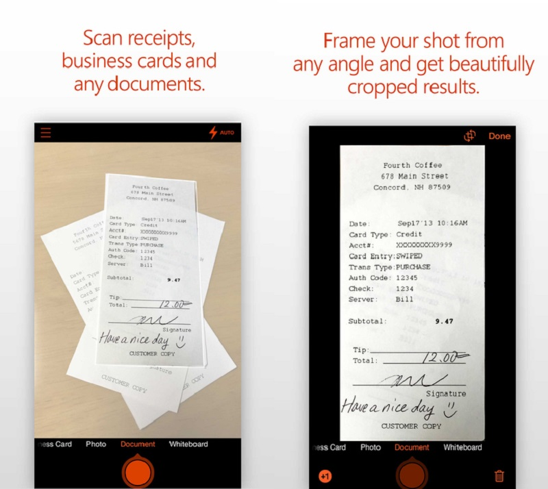 Microsoft Office Lens for iOS gets Immersive Reader and Frame Guide ...