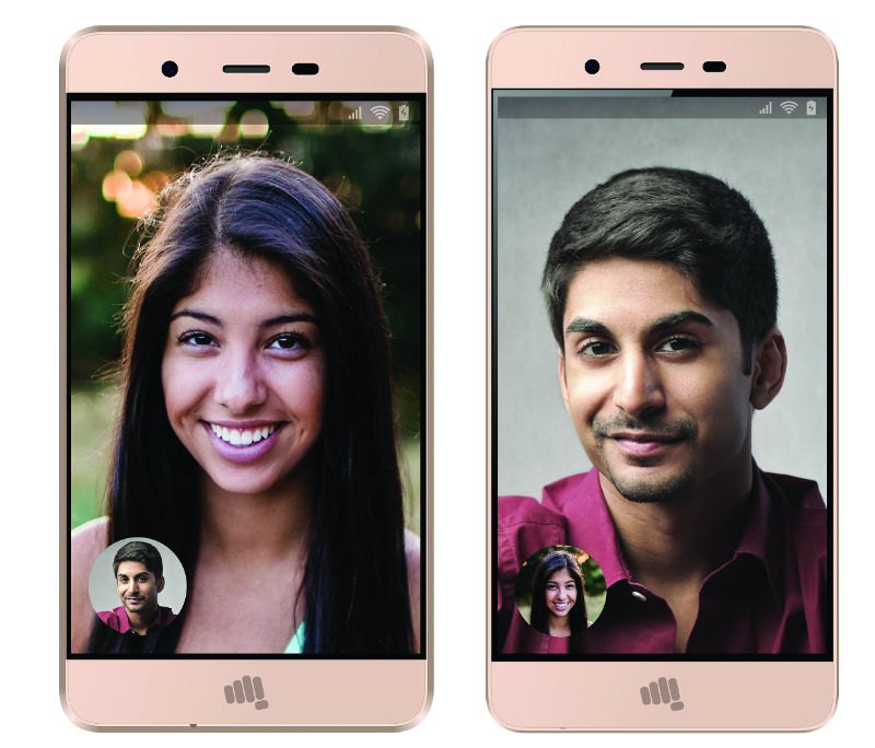san francisco 5207a 35dbf Micromax Vdeo 1 and Vdeo 2 with metal back, Android 6.0, 4G VoLTE ...