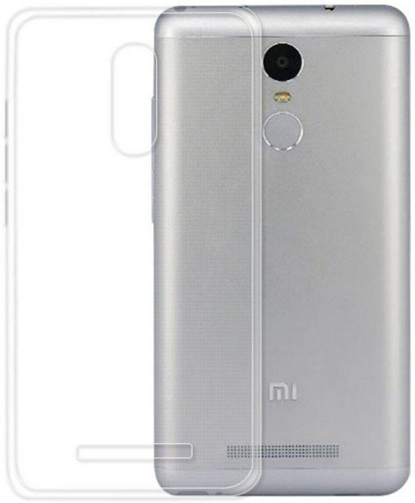 8cda66e32be Noise Transparent Clear Silicone back cover. redmi-note-3-silicon-case-2