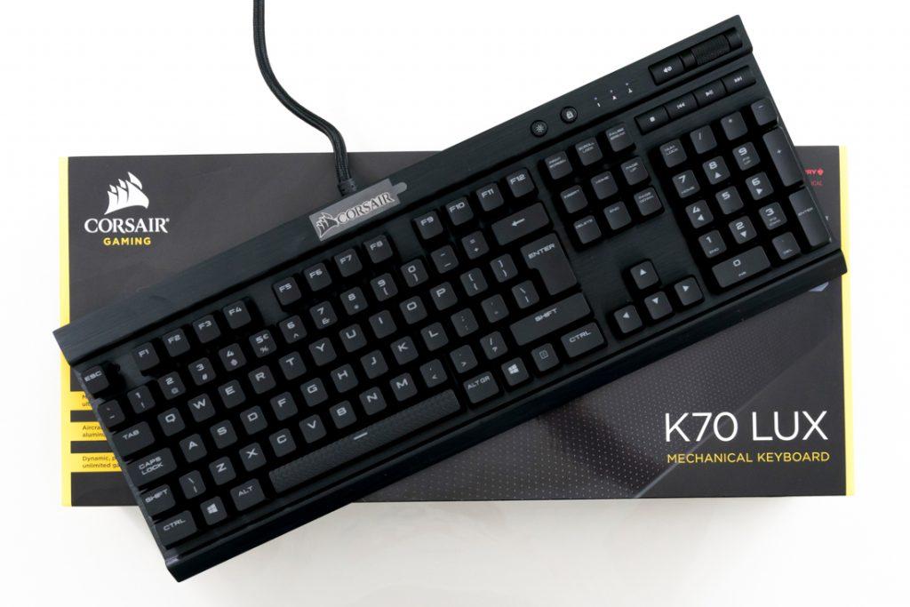 0238f7de1eb Corsair K70 Lux Mechanical Keyboard Unboxing – Cherry MX Red