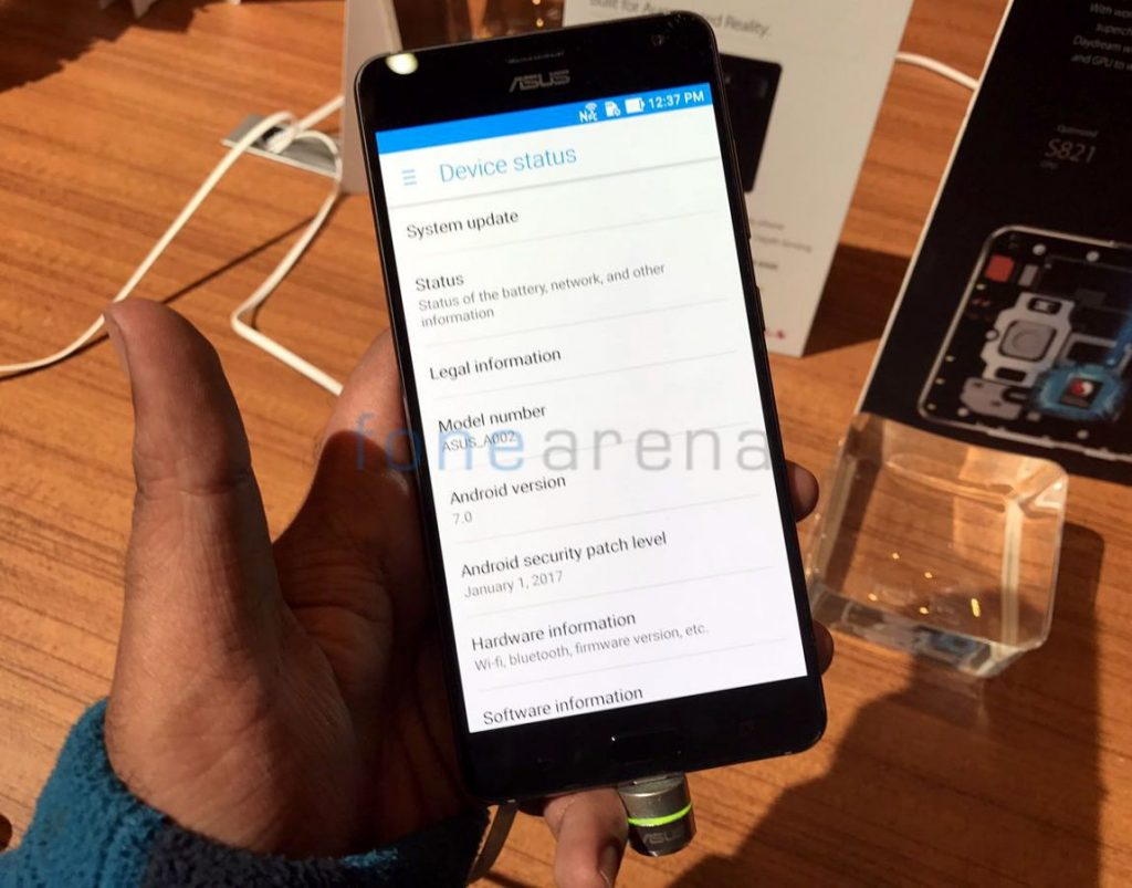 Asus Zenfone AR with 5 7-inch Quad HD display, 8GB RAM launching in