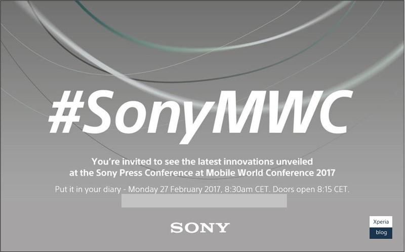 Sony Mobile MWC 2017 invite