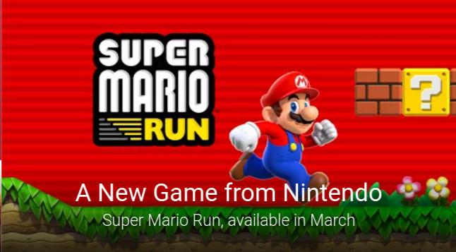 Super Mario Run Android March