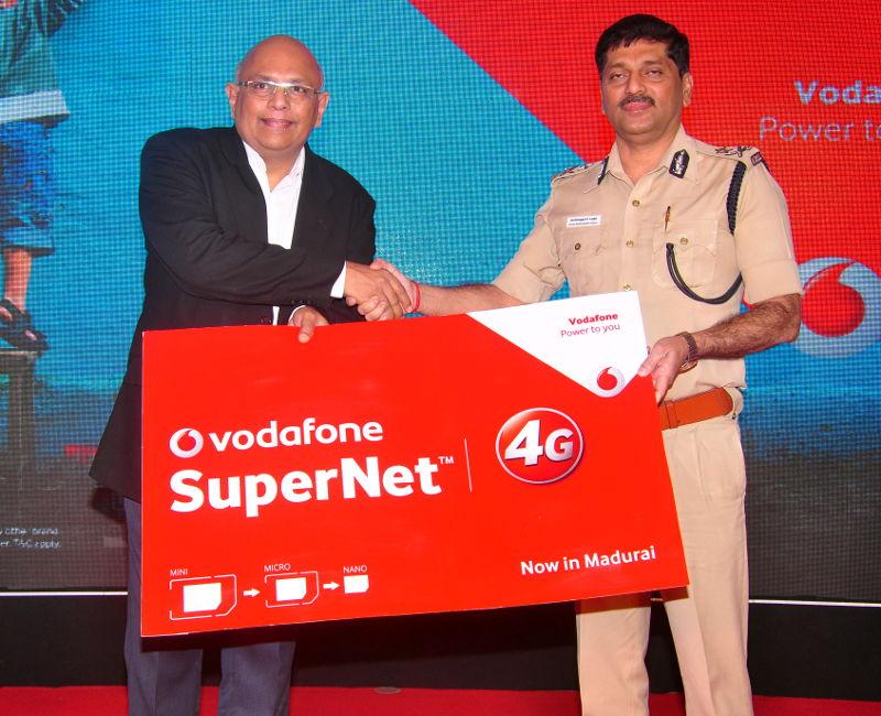 Vodafone 4G launch Madurai
