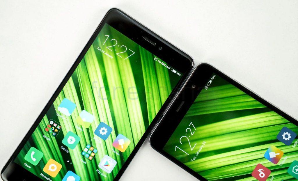 Redmi Note 4 vs Redmi Note 3 Front Camera