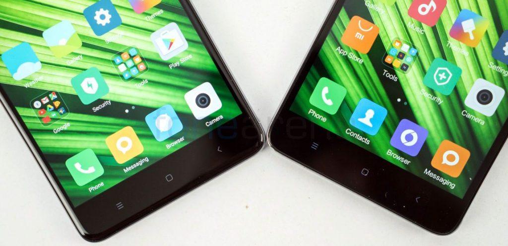 Redmi Note 4 vs Redmi Note 3 buttons