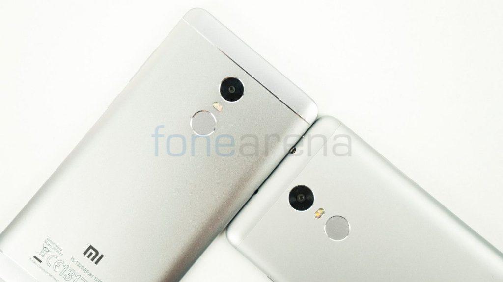 Redmi Note 4 vs Redmi Note 3 Fingerprint
