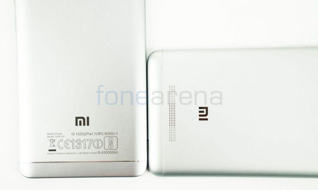 Redmi Note 4 vs Redmi Note 3 Speaker Grill