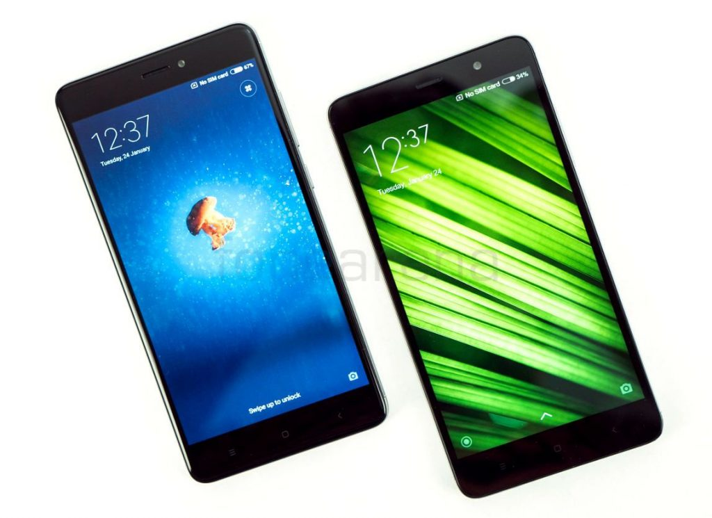 Xiaomi Redmi Note 4 vs Redmi Note 3