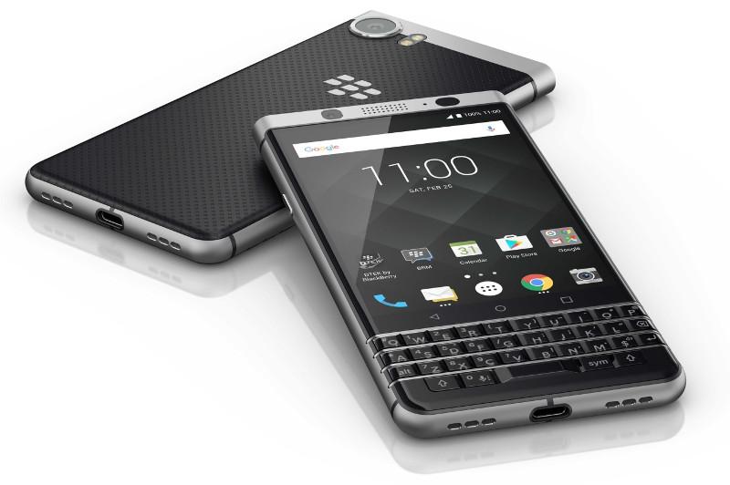 BlackBerry KEYone with 4 5-inch 3:2 display, QWERTY keyboard