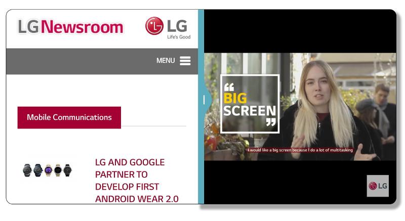 LG G6 display LG UX 6.0