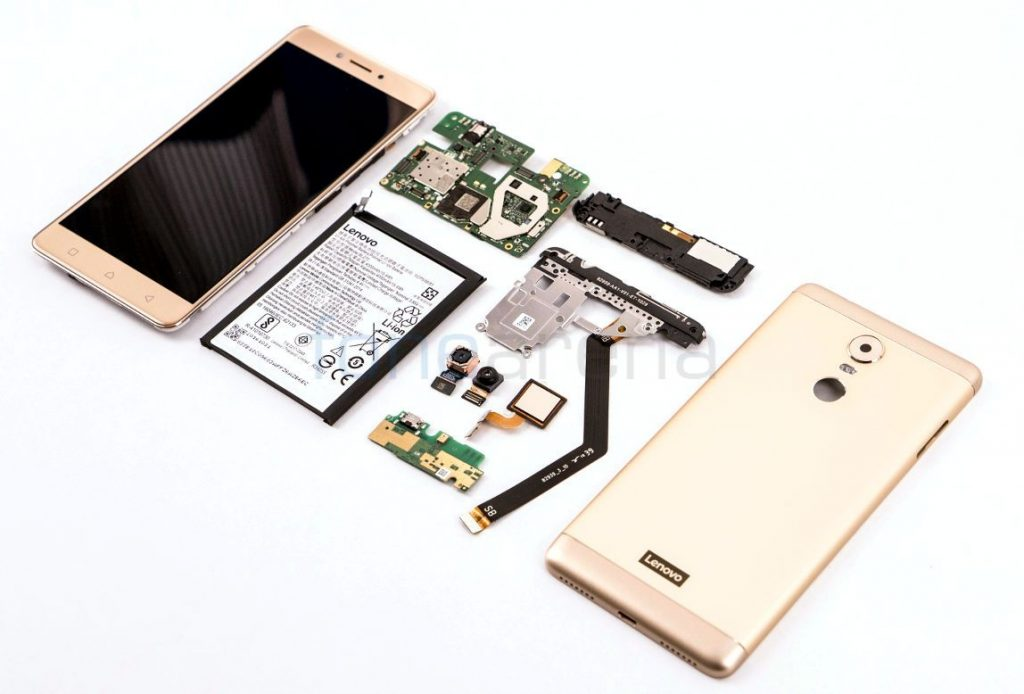 Lenovo K6 Note Teardown