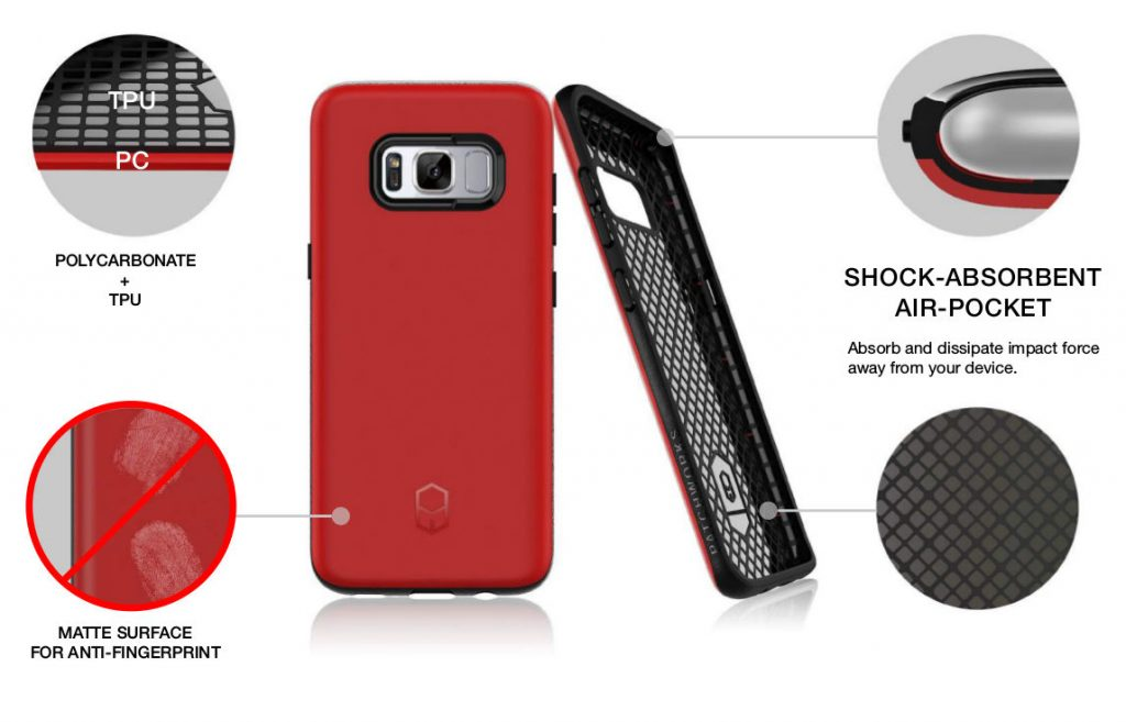 Patchworks ITG Level Case for Galaxy S8 and S8 Plus-1