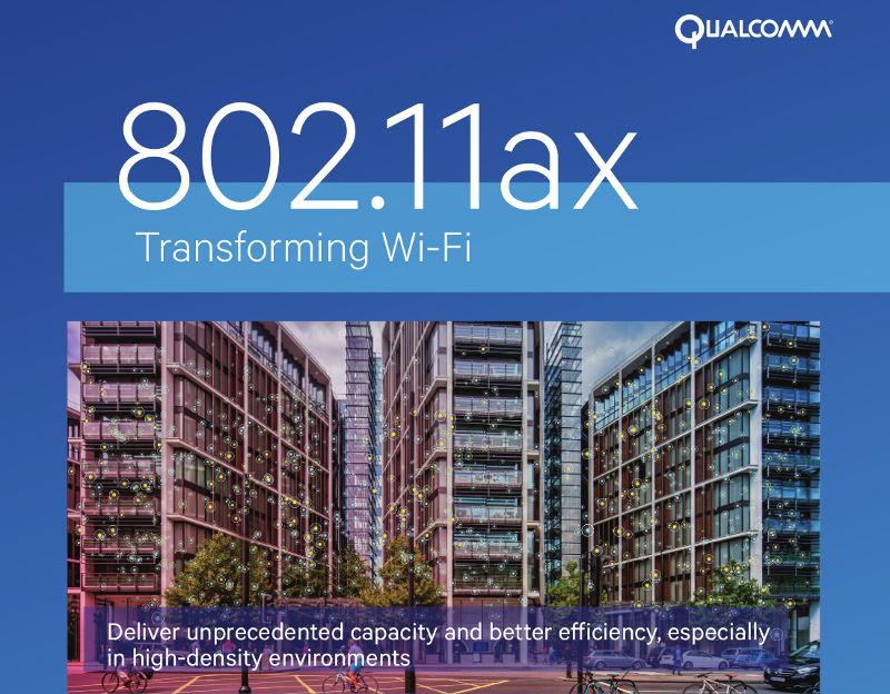 Qualcomm introduces IPQ8074 802 11ax SoC, QCA6290 Dual-band 2×2
