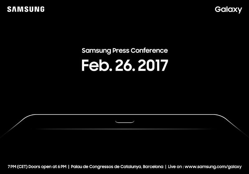 Samsung MWC 2017 Press Conference Invitation