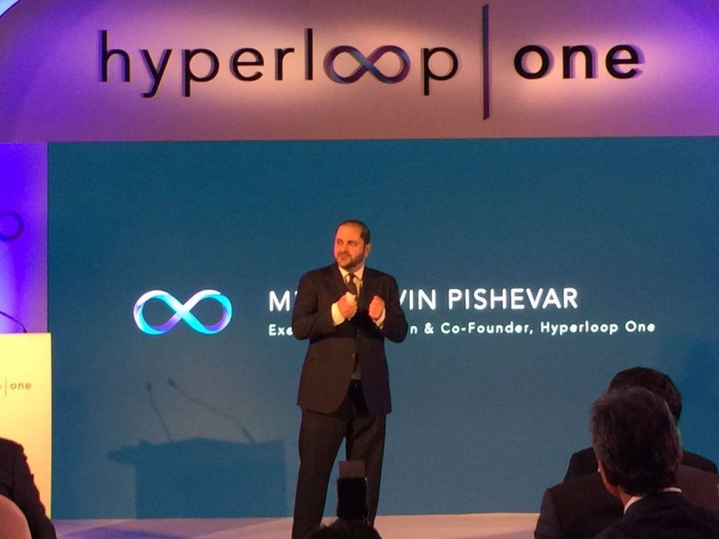 Shervin Pishevar, Executive Chairman of Hyperloop One