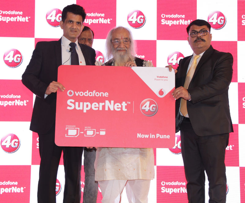 Vodafone 4G launch Pune
