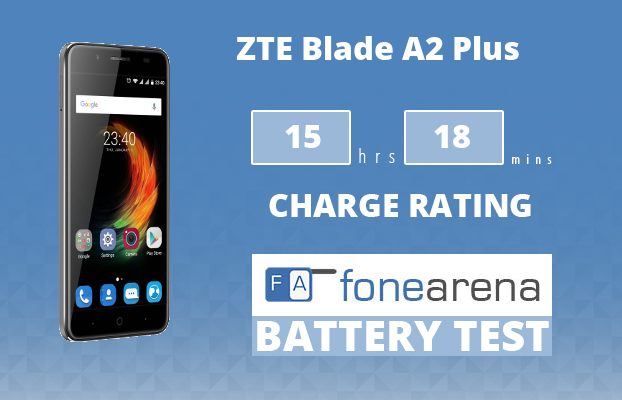 ZTE Blade A2 Plus FA One Charge Rating