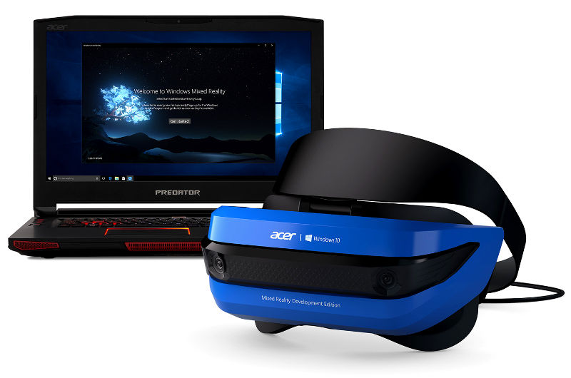 Acer Windows Mixed-Reality Development Edition headset