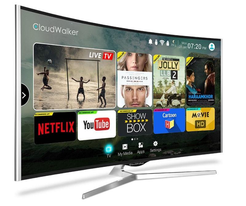 CloudWalker CLOUD TV 85-inch Curved Smart TV