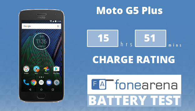 Moto G5 Plus FA One Charge Rating