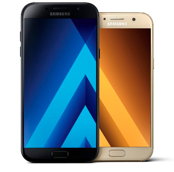 quality design 0b144 97291 Samsung Galaxy A5 (2017) and A7 (2017) with water resistant body ...