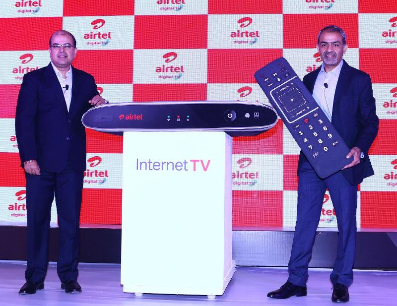 Airtel Internet TV Launch