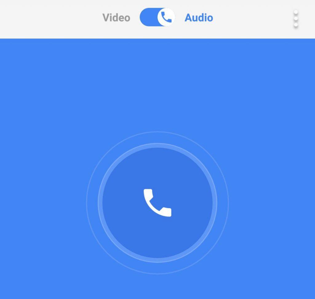 Google Duo Audio