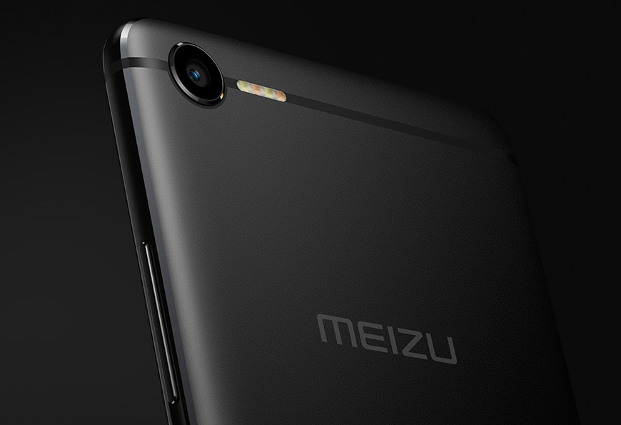 Meizu E2 LED flash