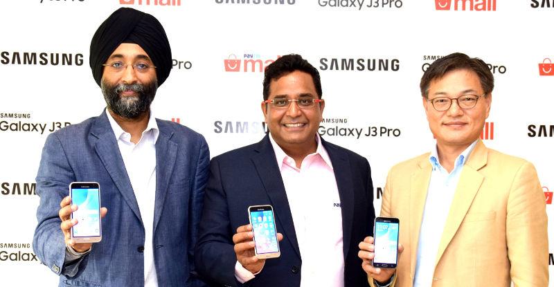 Samsung Galaxy J3 Pro India launch