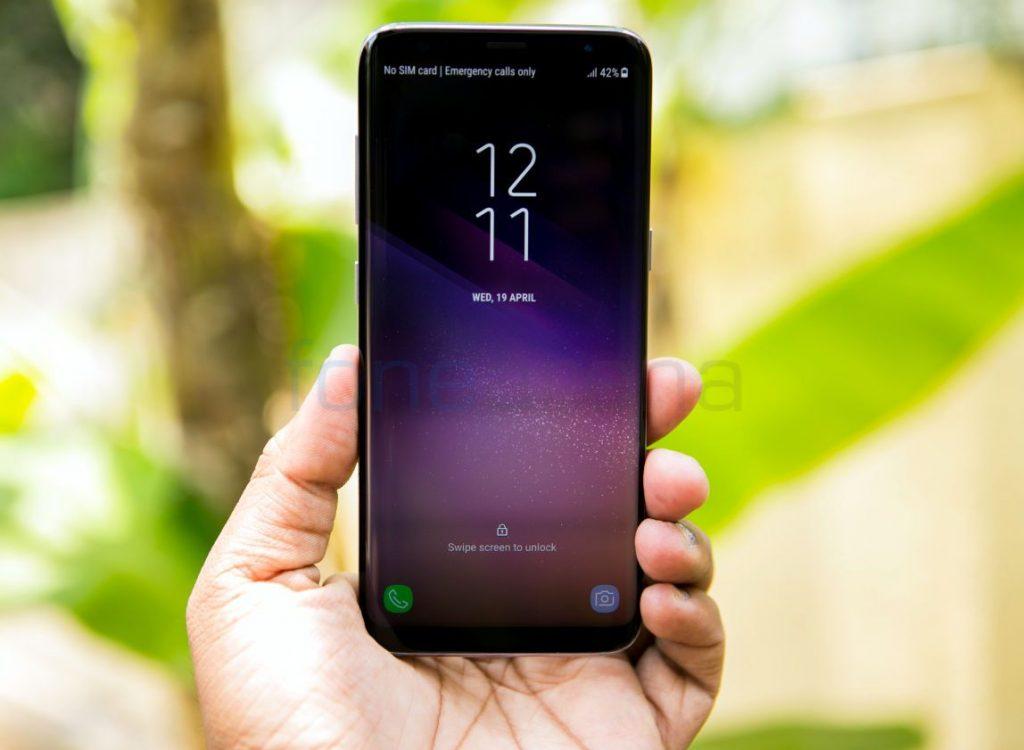 Samsung Galaxy S8, S8+, Note8 Always On Display update