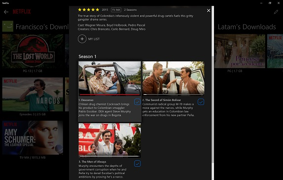 Netflix for Windows 10 now lets you download movies and TV shows for