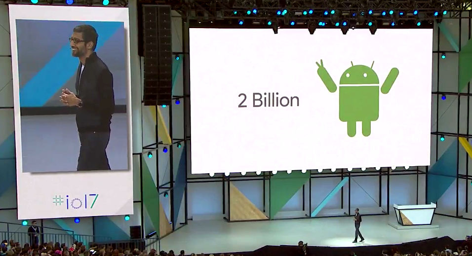 Android 2 Billion devices