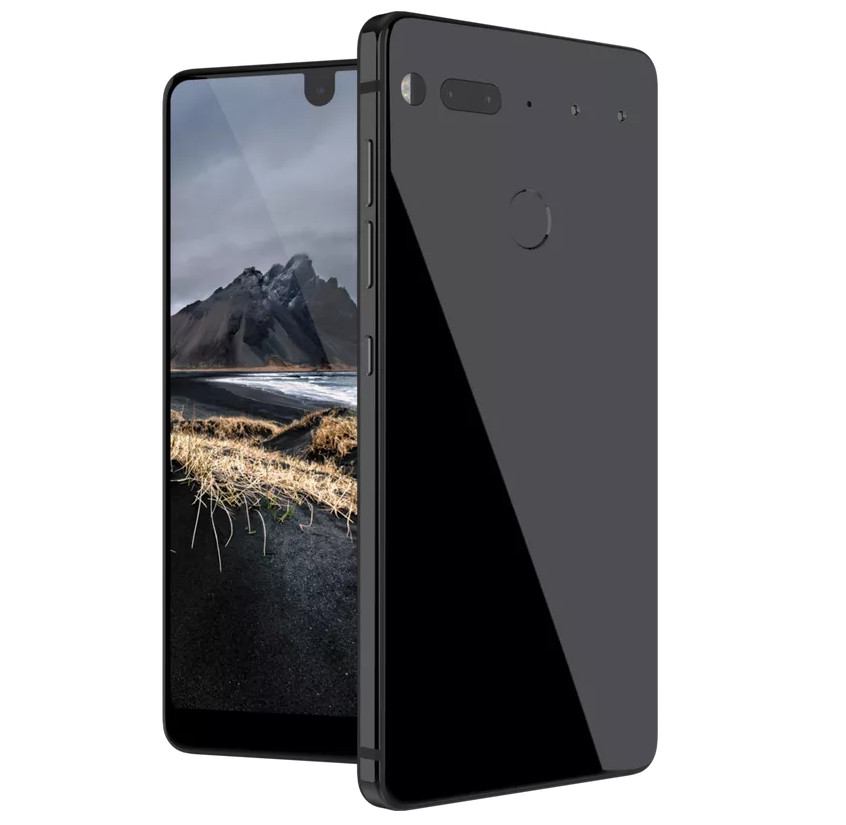Essential Phone with 5 7-inch QHD bezel-less display, Snapdragon 835