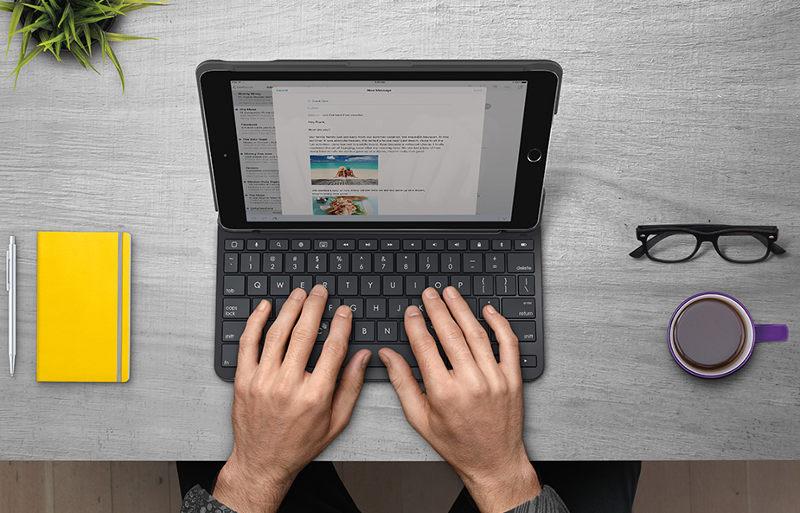 Logitech Slim Folio keyboard case for iPad