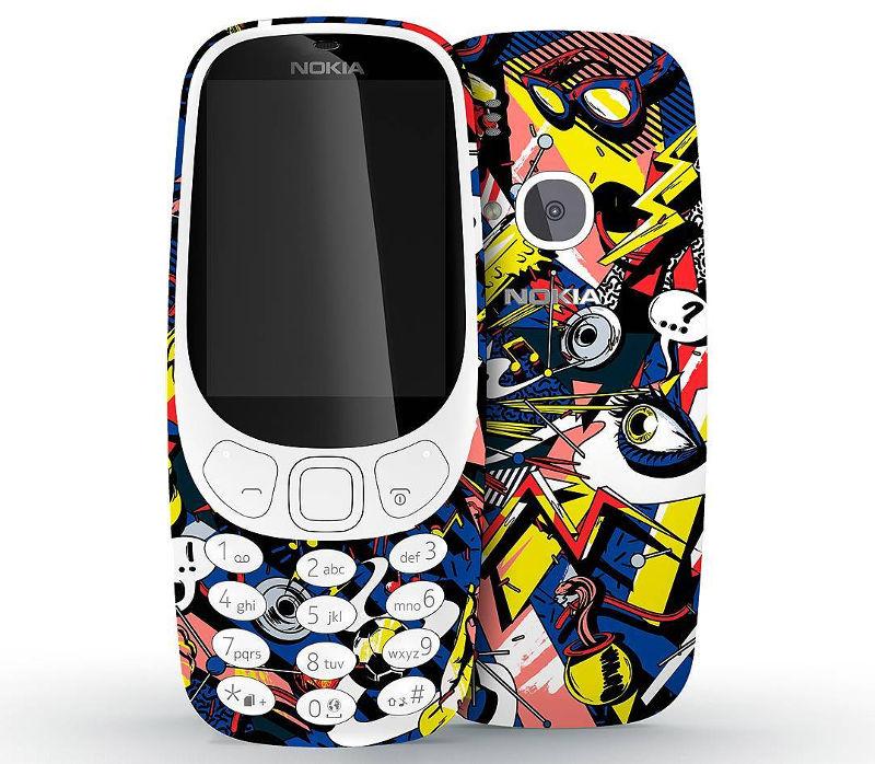 Nokia 3310 art Instagram competition
