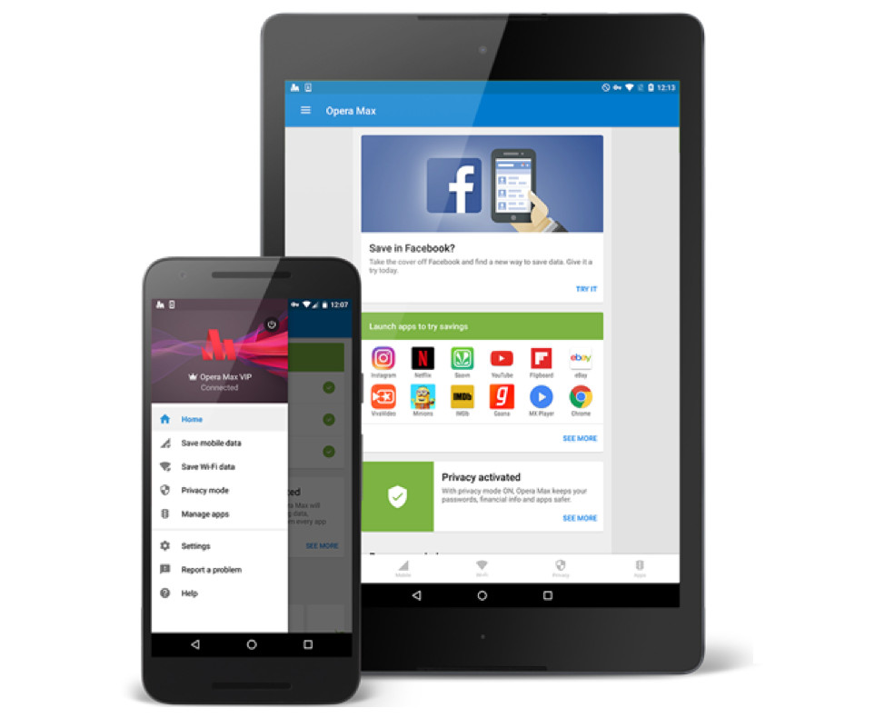 Opera Max 3.0 for Android
