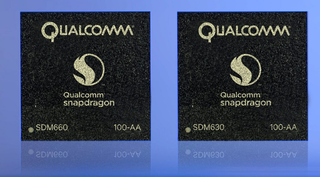 Qualcomm Snapdragon 660 and 630 chips