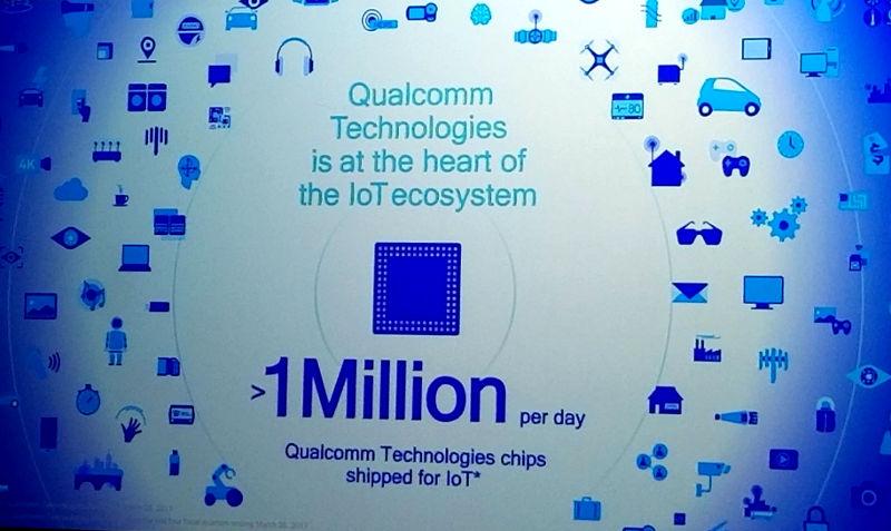 Qualcomm iot 1 million