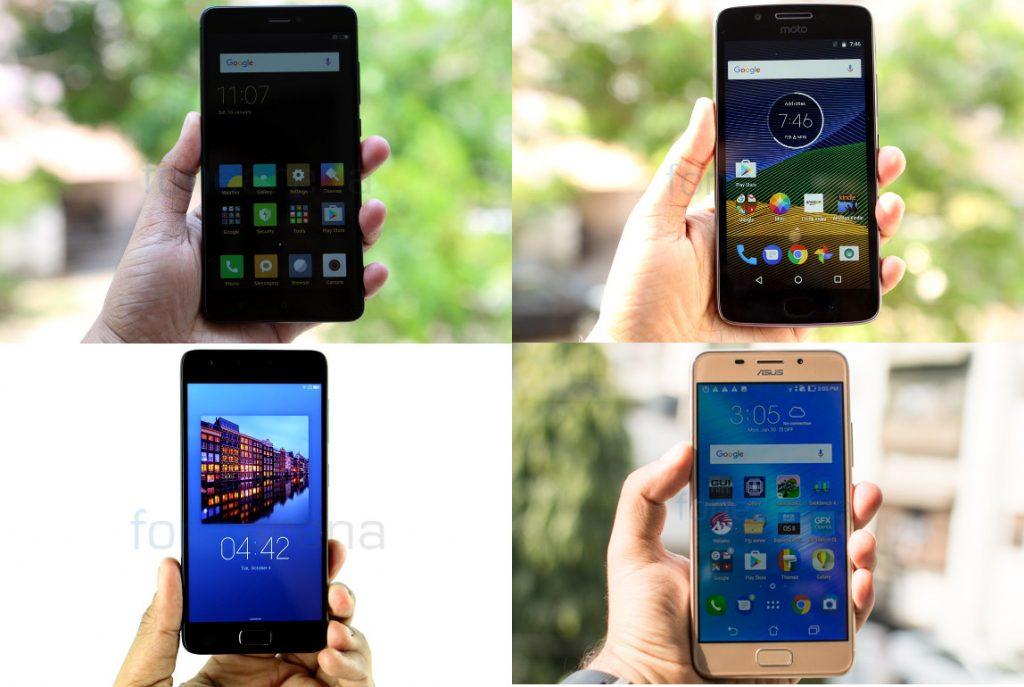 Top VoLTE phones under Rs. 15000