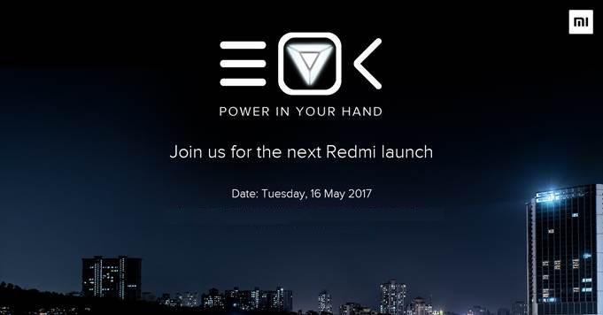 Xiaomi Redmi launch May 16