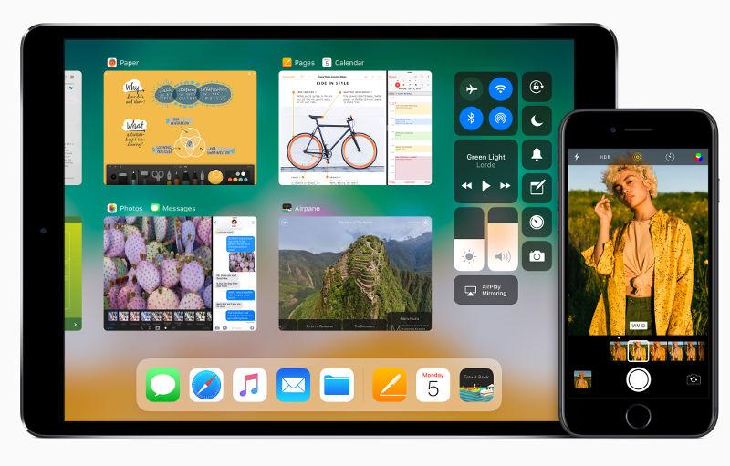 Apple iOS 11 iPad and iPhone