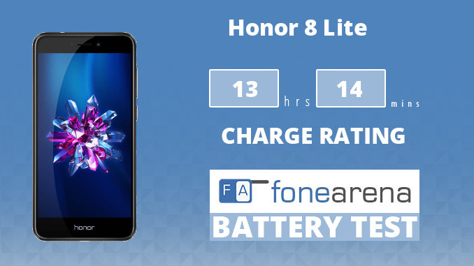 Honor 8 Lite FA One Charge Rating