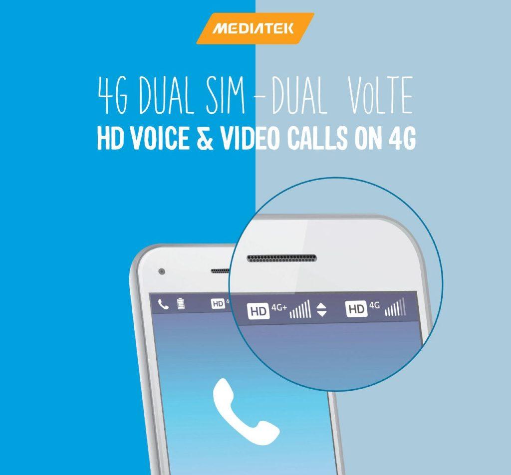 MediaTek Dual 4G VoLTE