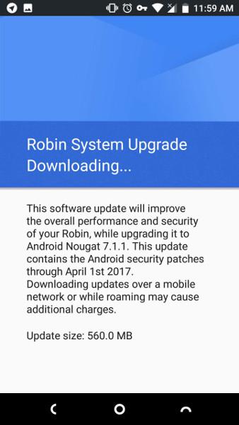 Nextbit Robin Android 7.1.1