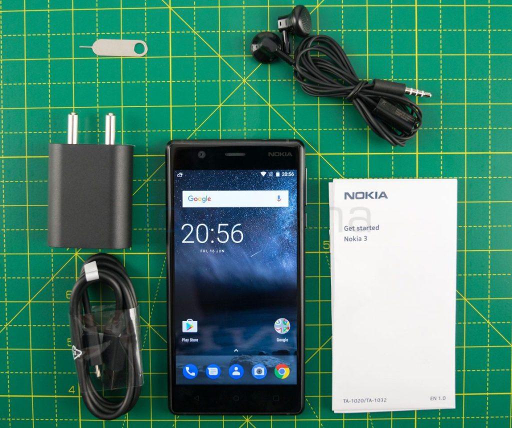 Nokia 3 Unboxing