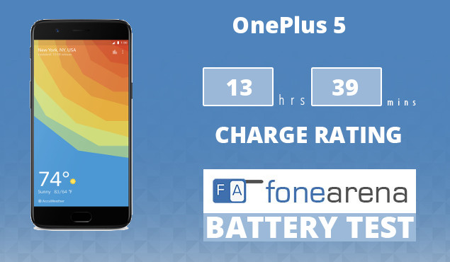 OnePlus 5 FA One Charge Rating